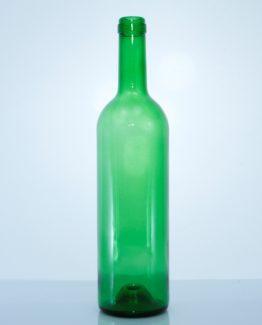 Bordeaux 750 ml viinipullo BM vihreä