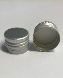 PP22 Alumiinikorkki esikierteytetty hopea